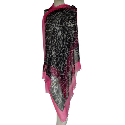 Valentino Cashmere scarf with animal print