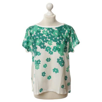 Max Mara T-Shirt mit Muster