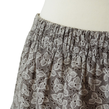 A.P.C. Skirt with floral pattern