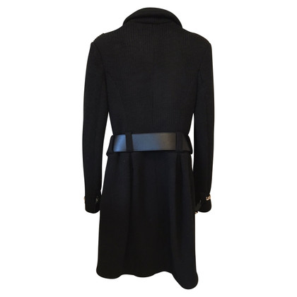 Elisabetta Franchi Coat in black