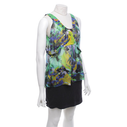 Emanuel Ungaro top in multicolor