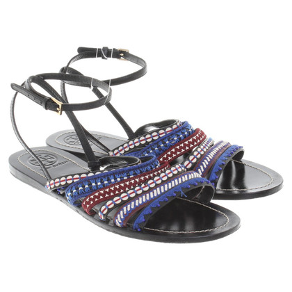 Tory Burch Sandals with colorful straps