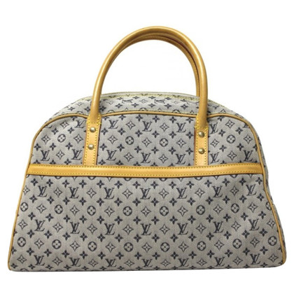 "Louis Vuitton ""Marie Monogram Mini Lin Bleu"""