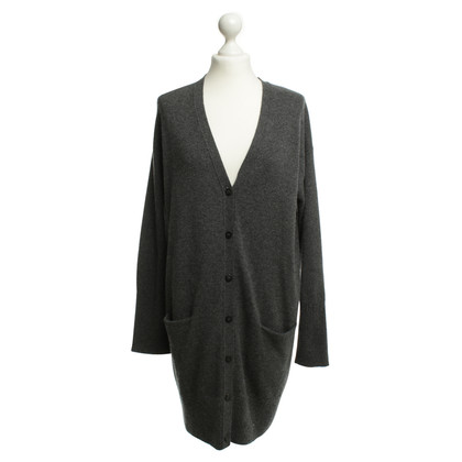Iris von Arnim Cashmere Cardigan in grey