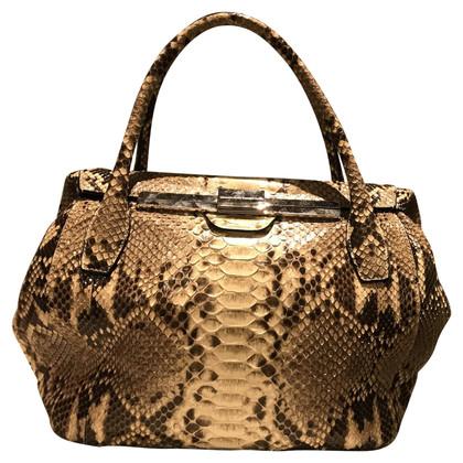 Ermanno Scervino Handbag made of phyton leather