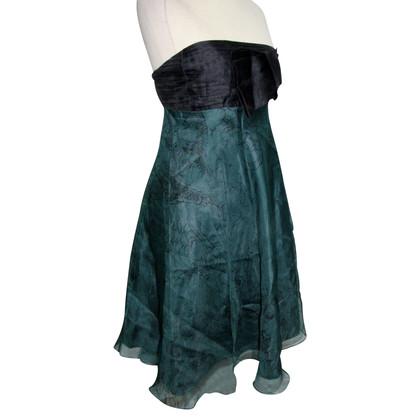 Tibi Tibi robe de soie Corsa