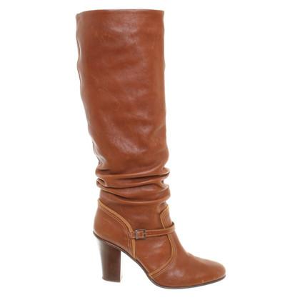 Furla Stivali in pelle marrone