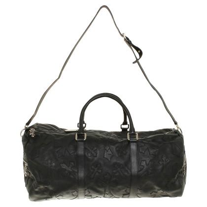 Philipp Plein Leather Travel Bag