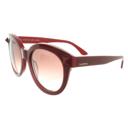Valentino Sunglasses in Red / Bordeuax