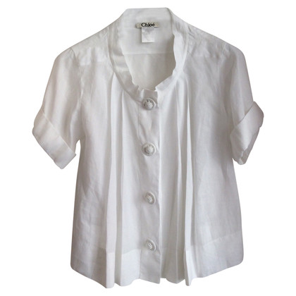 Chloé Blouse in white
