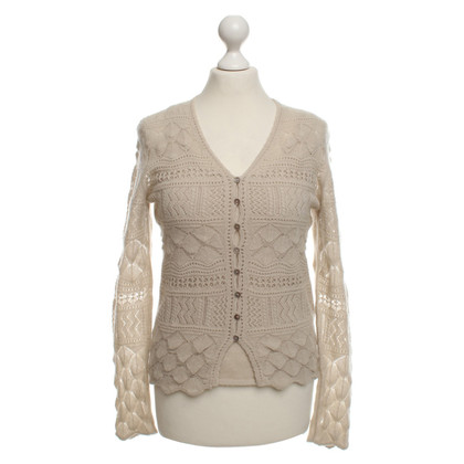 Iris von Arnim Cashmere twin set in beige
