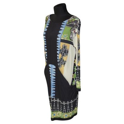 Etro Jersey dress with print