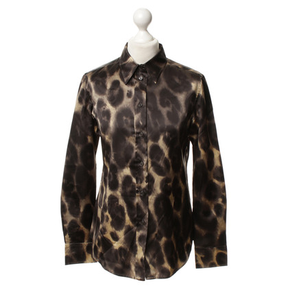 Prada Silk blouse with print