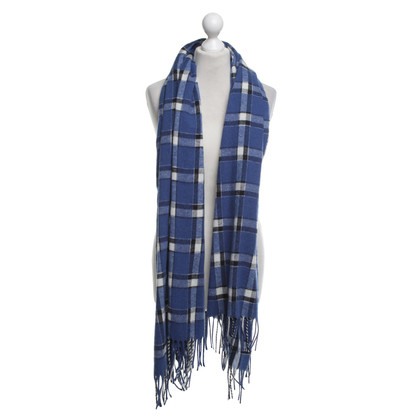 Marc by Marc Jacobs Scarf with checked pattern