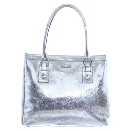 Etro Handtasche in Silber