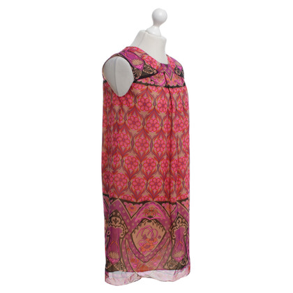 Anna Sui Dress with a colorful pattern