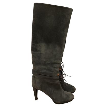 Sergio Rossi Gray boots