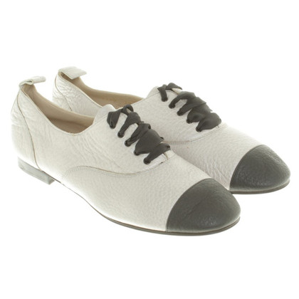 Chanel Lace-up shoes in light gray