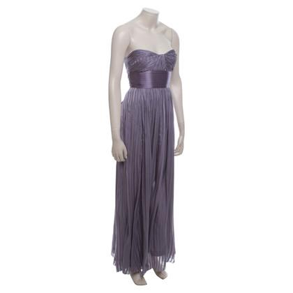 BCBG Max Azria Robe en soie violet