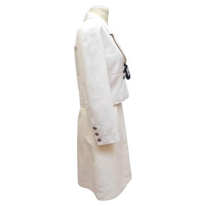 Chanel Kostüm mit Ripsstruktur