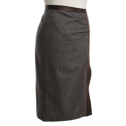 Etro skirt in gray-melange