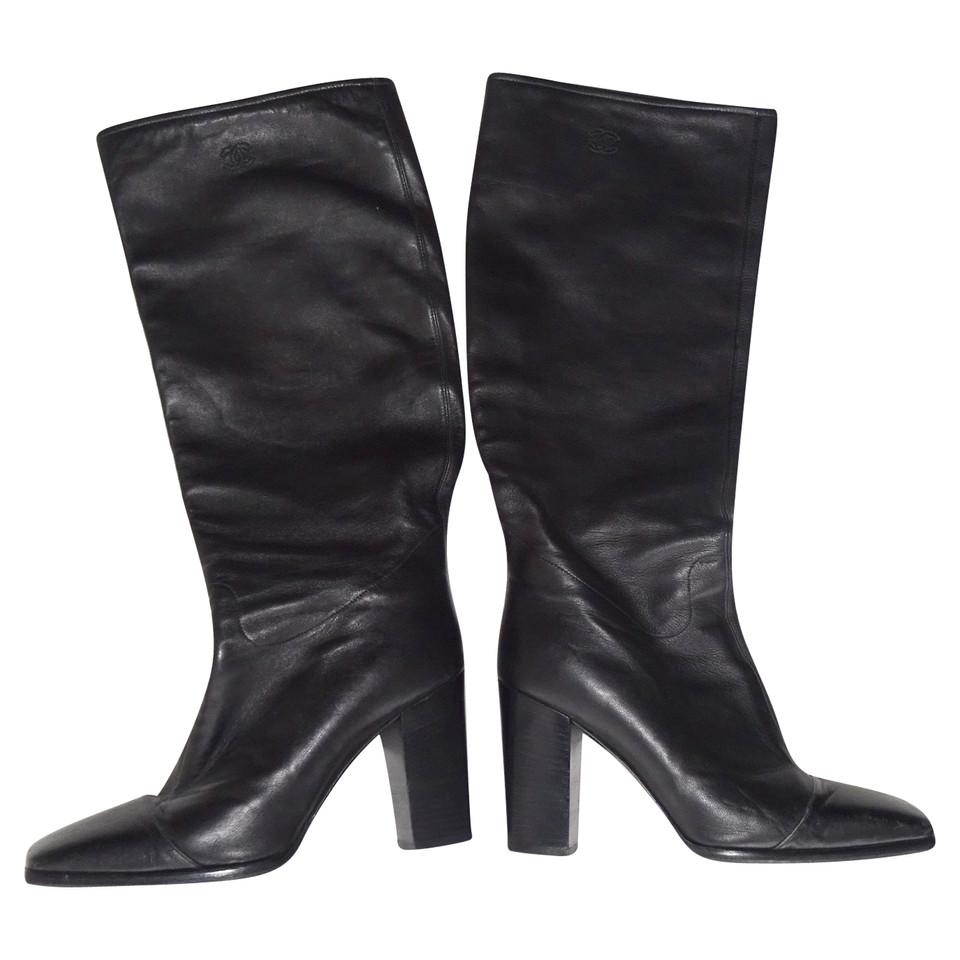 Chanel Calfskin boots - Buy Second hand Chanel Calfskin ...- photo #50