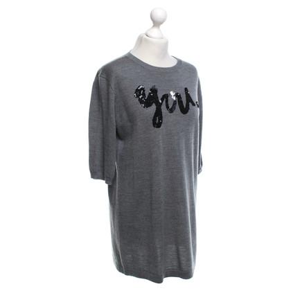 Markus Lupfer Lang shirt in grijs