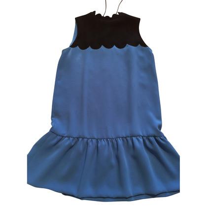 Victoria by Victoria Beckham Zweifarbiges Kleid