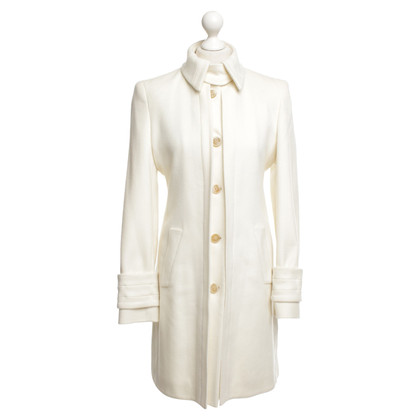 Hugo Boss Coat in cream white