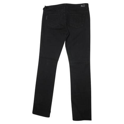 Paige Jeans Zwarte broek
