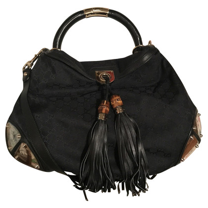 """Gucci """"Indy Bag"""" with Guccissima pattern"""