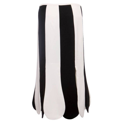 Other Designer Target - skirt in black / white