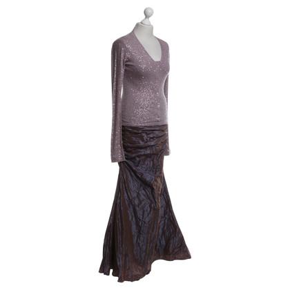 Barbara Schwarzer 3 pezzi abito di gala in viola