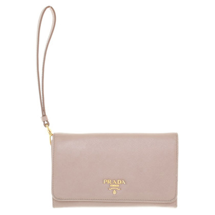 Prada Wallet in nude
