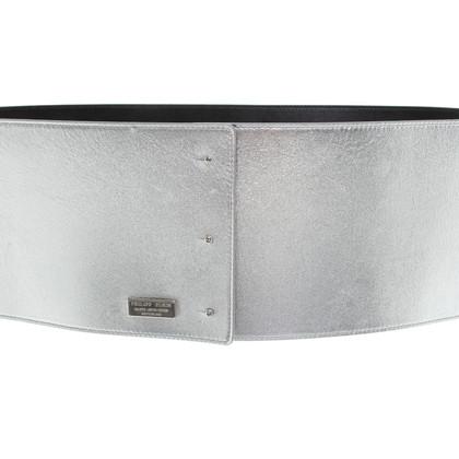 Plein Sud Belt in silver