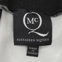 Alexander McQueen gonna con stampa