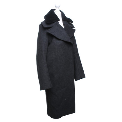 Acne Coat in anthracite