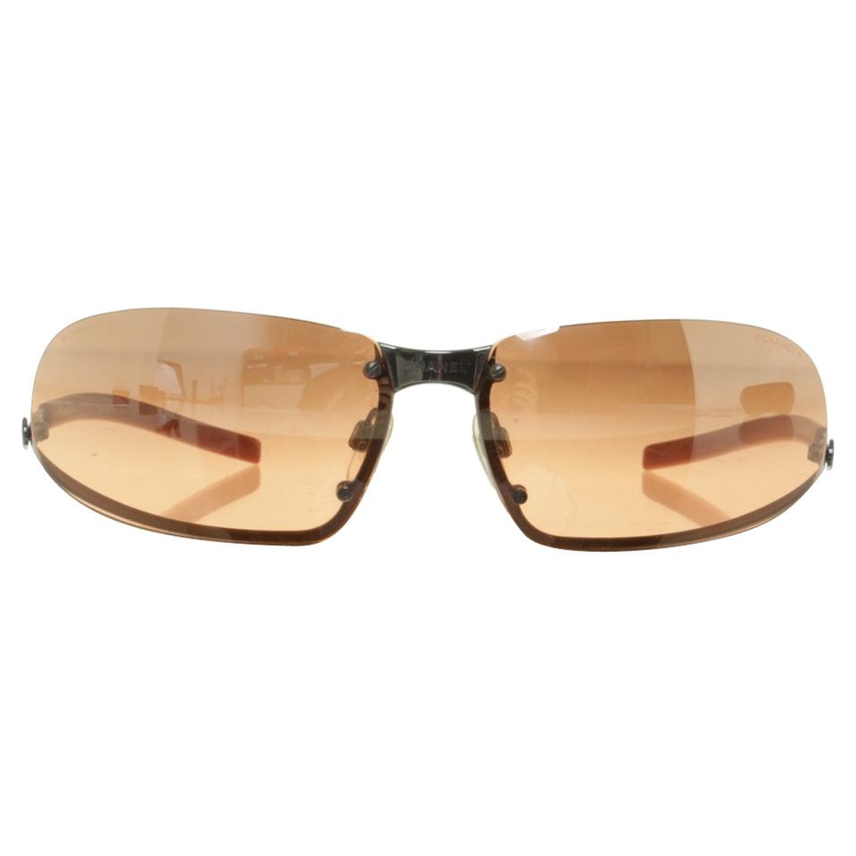 Chanel Sunglasses in orange