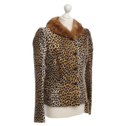 Dolce & Gabbana Giacca con collo in pelliccia