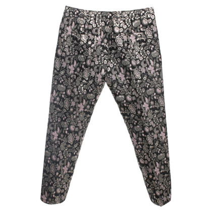 MSGM trousers with floral pattern
