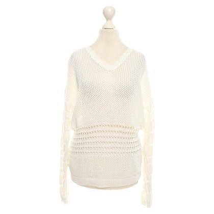 Stefanel Knit sweater in white