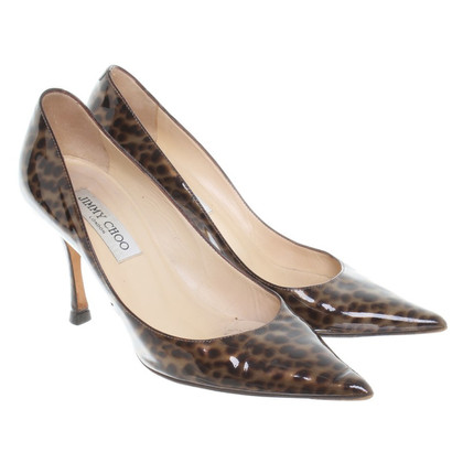 Jimmy Choo pumps con stampa animalier