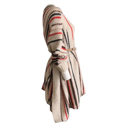 Missoni poncho a maglia multicolore