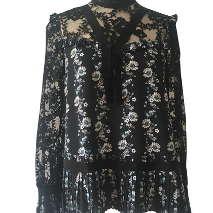 Erdem Blouse with a floral pattern