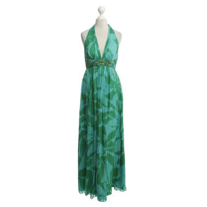 BCBG Max Azria Halter jurk in groen