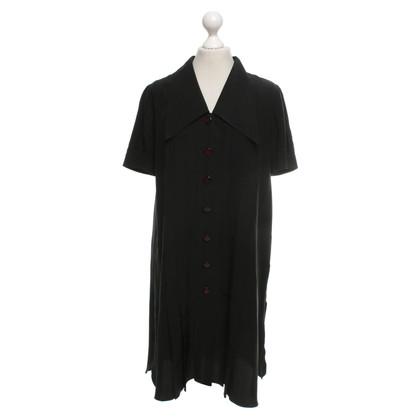 Karl Lagerfeld Zwart zijden jurk