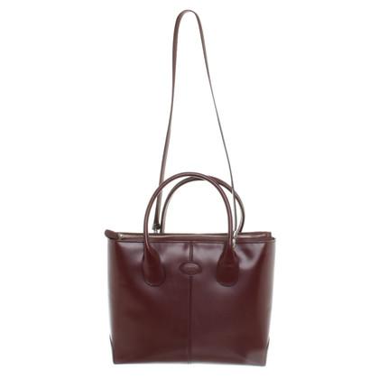 Tod's Handbag in Bordeaux