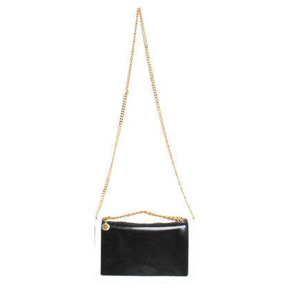 Stella McCartney Shoulder bag in black / white