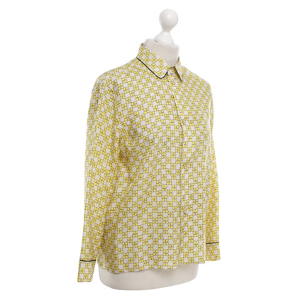 Marni Shirt blouse with geometric pattern