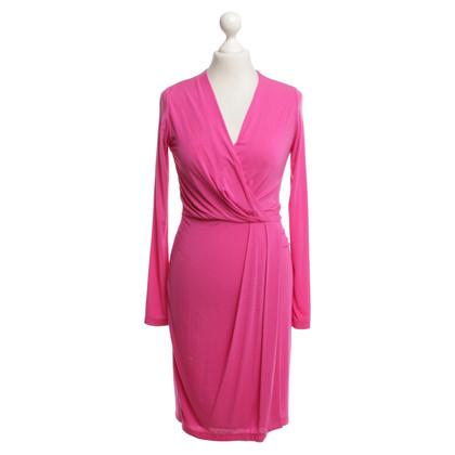 Allude Kleid in Fuchsia